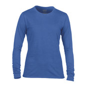 Women's Gildan performance long sleeve t-shirt