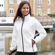 Women's printable softshell jacket